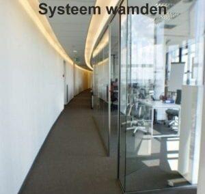 Volglas-systeemwanden